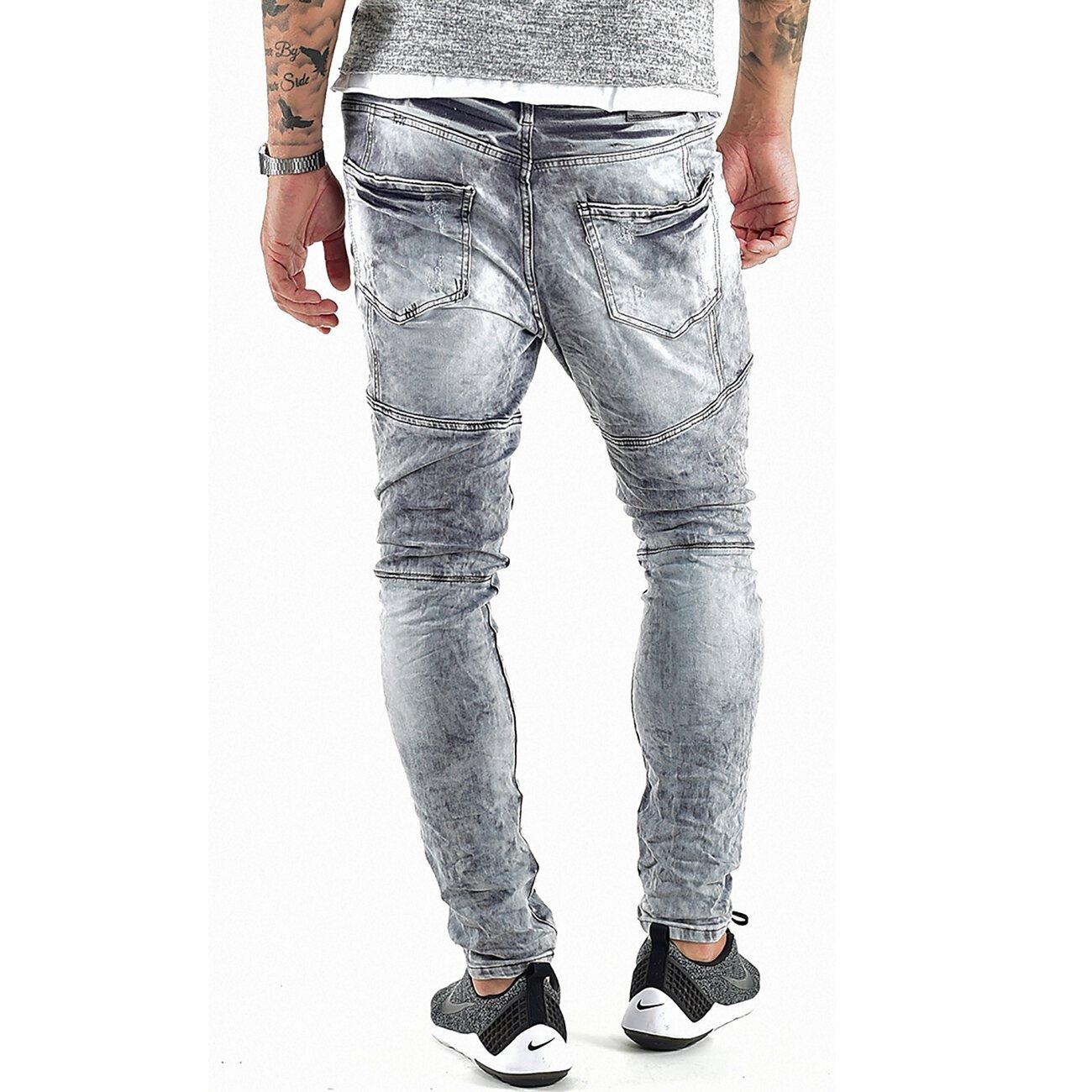 vsct jeans herren carter silver heavy used denim hose grau. Black Bedroom Furniture Sets. Home Design Ideas
