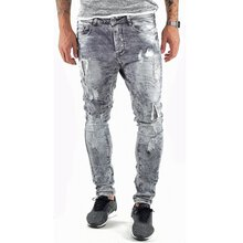 VSCT Jeans Herren Carter Denim Silver Heavy Used...