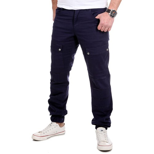 Reslad Jogger Chino-Hose Herren-Hose Big Pocket Jogging-Chinohose RS-2057