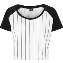 Urban Classics Damen-Top Cropped Baseball T-Shirt Top...