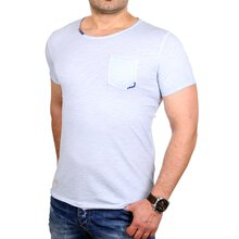 Redbridge T-Shirt Herren Thread Detail Shirt mit...