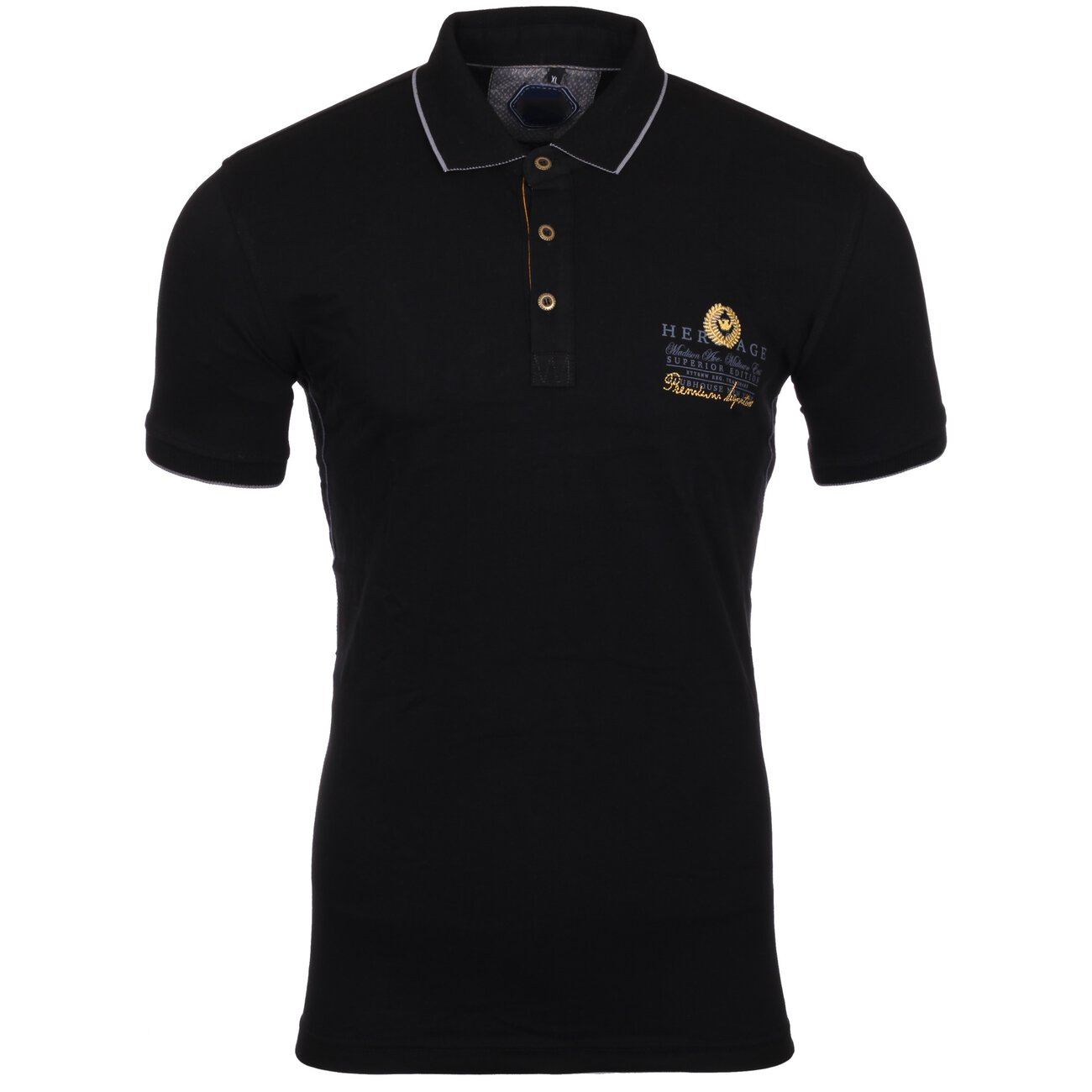reslad polo shirt herren slim fit designer polo hemd kurzarm shirt rs. Black Bedroom Furniture Sets. Home Design Ideas