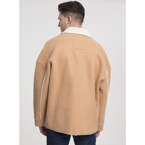 Urban Classics Winter Jacke Herren Oversized Sherpa Jacket TB 1815 Camel