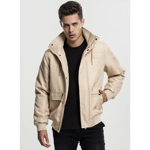 Urban Classics Winter-Jacke Herren Heavy Hooded Kapuzen...
