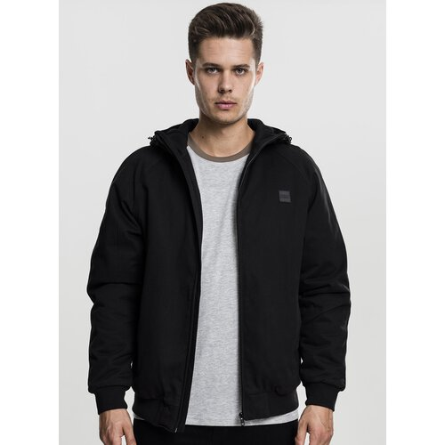Urban Classics Winter-Jacke Herren Hooded Cotton Zip Kapuzen Jacke TB-1805