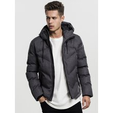 Urban Classics Winter-Jacke Herren Heringbone Hooded...