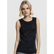 Urban Classics Damen T-Shirt Crinkle Wash Back Cut Top...