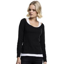 Urban Classics Damen Langarm-Shirt Two-Colored Tank-Top...