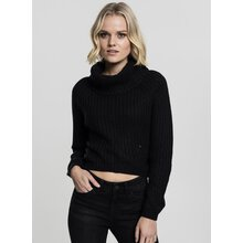Urban Classics Damen Sweat-Shirt Short Turtleneck...