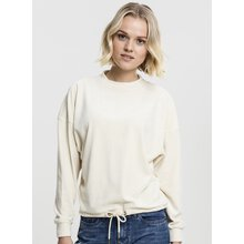 Urban Classics Damen Sweat-Shirt Oversized Velvet...