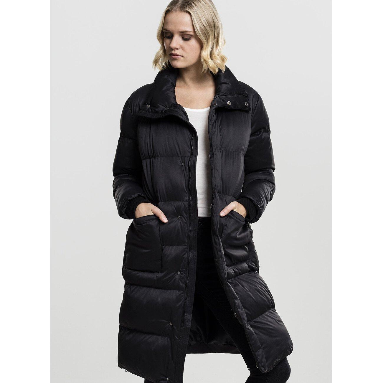 urban classics damen jacke oversized puffer coat. Black Bedroom Furniture Sets. Home Design Ideas