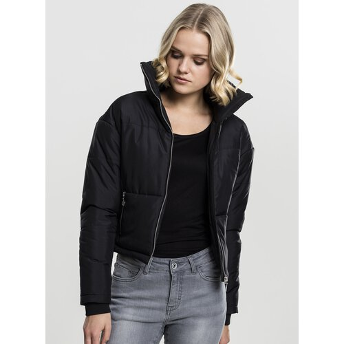 Kapuze Mit Jacket Urban Classics Damen Jacke Puffer Winterjacke Hooded 80n8qrT