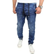 Reslad Jogg-Jeans Casual Style Jeans-Herren Slim Fit...