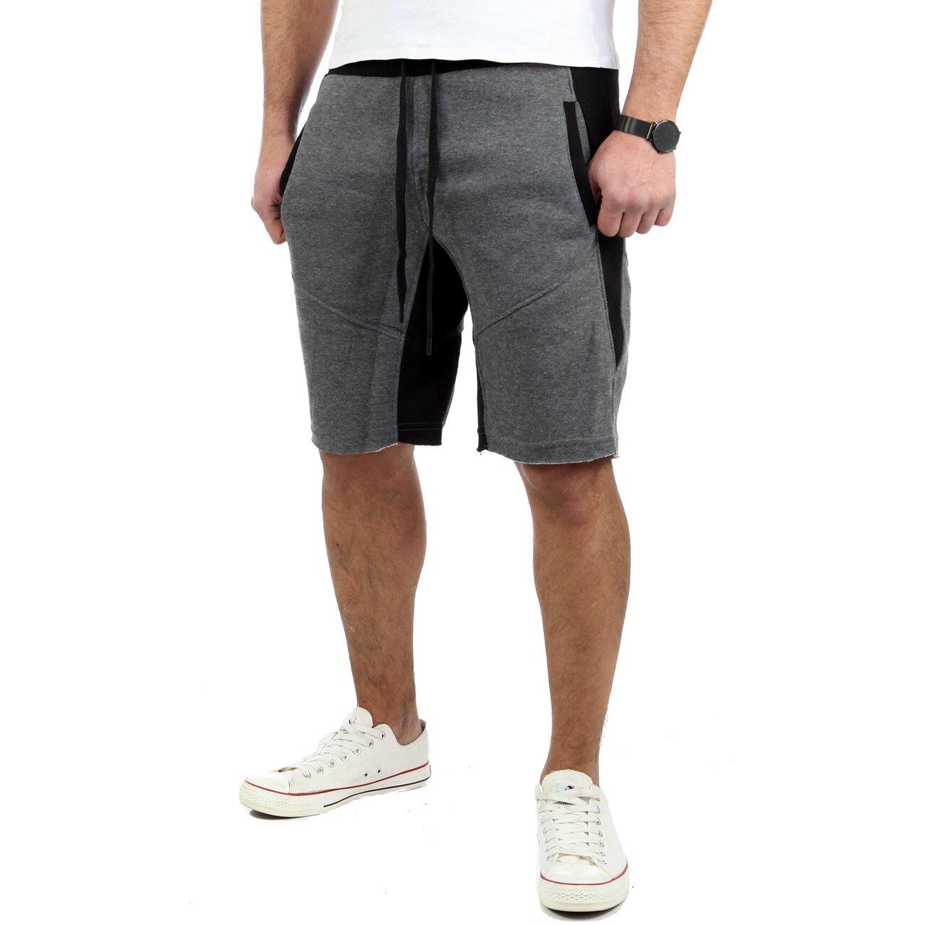 reslad kurze hose herren fitness jogginghose kurz shorts sport hose r. Black Bedroom Furniture Sets. Home Design Ideas
