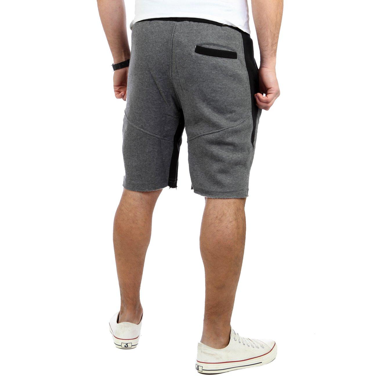 reslad kurze hose herren fitness jogginghose kurz shorts. Black Bedroom Furniture Sets. Home Design Ideas