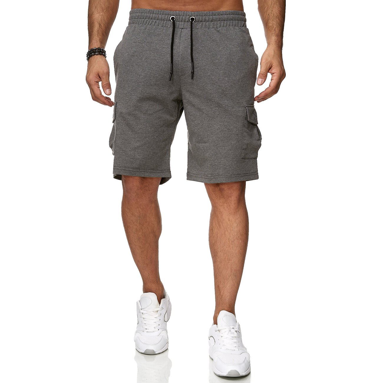 reslad kurze hose herren cargo bermuda shorts jogginghose sport hose. Black Bedroom Furniture Sets. Home Design Ideas