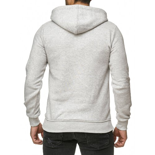 Reslad Sweat-Shirt Herren Basic Sweat Kapuzen-Pullover Hoody RS-1038