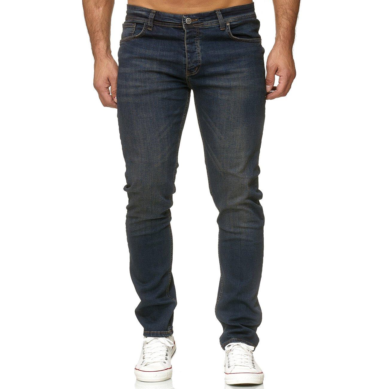 reslad jeans herren slim fit basic herren hose jeanshose. Black Bedroom Furniture Sets. Home Design Ideas