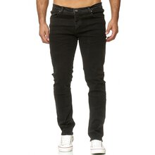 Reslad Jeans Herren Designer Slim Fit Basic Style Stretch...
