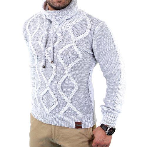 new styles a26e3 7d851 Reslad Herren Strickpullover Grobstrick Rollkragen Winter Pulli Männer  Pullover TZ-3992