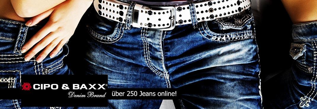 �ber 250 Jeans Hosen online!
